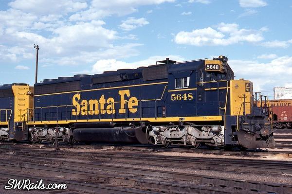 Santa Fe EMD SD45-2 locomotive