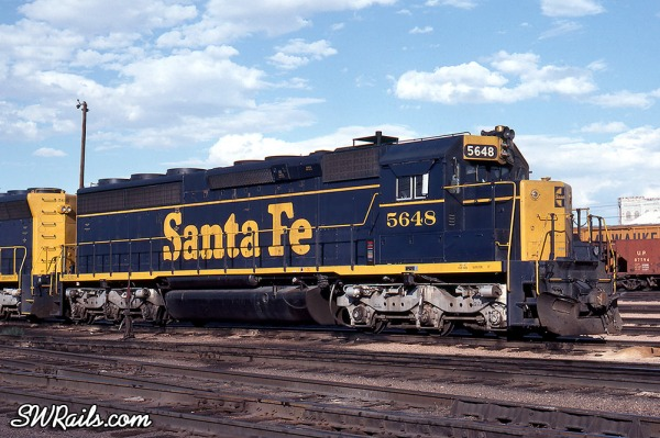 Santa Fe EMD SD45-2 locomotive