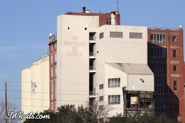 Imperial Sugar mill demolition