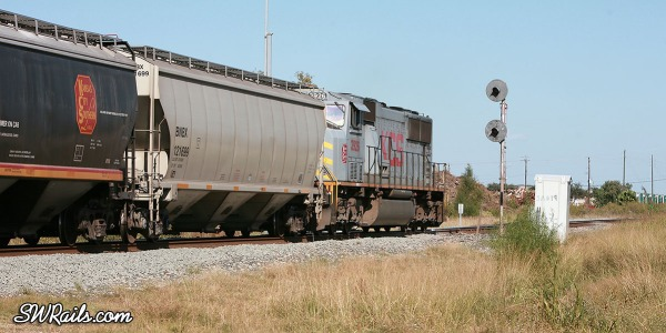 KCS SD70MAC 3926