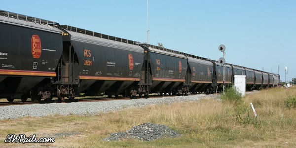 KCS grain cars