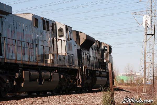 KCS freight train