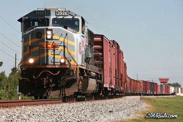 KCS SD70M 3926 Stafford TX
