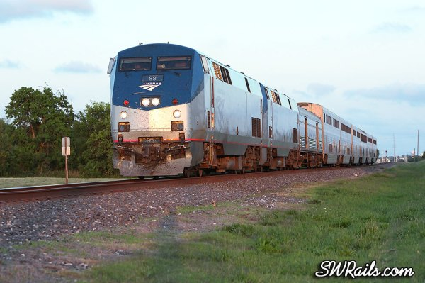 Amtrak Sunset Limited in Stafford TX
