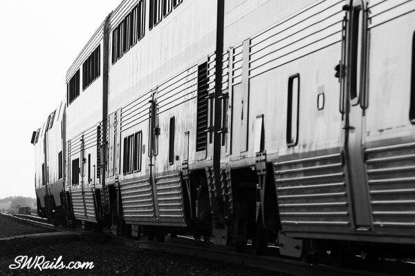 Amtrak Sunset Limited at Sugar land TX on May 19, 2012