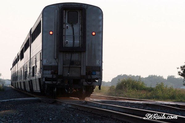 Amtrak Sunset Limited at Sugar land TX on May 19, 2012