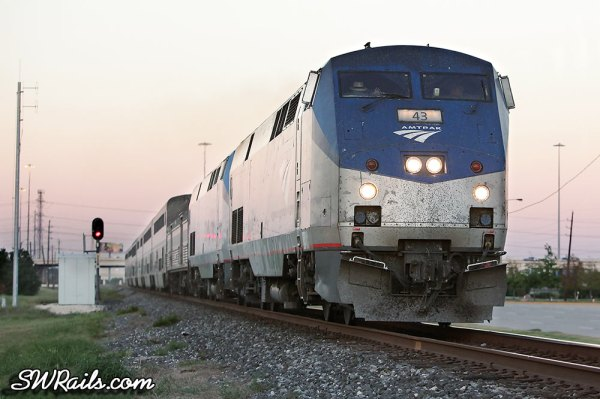 Amtrak Sunset Limited passenger train