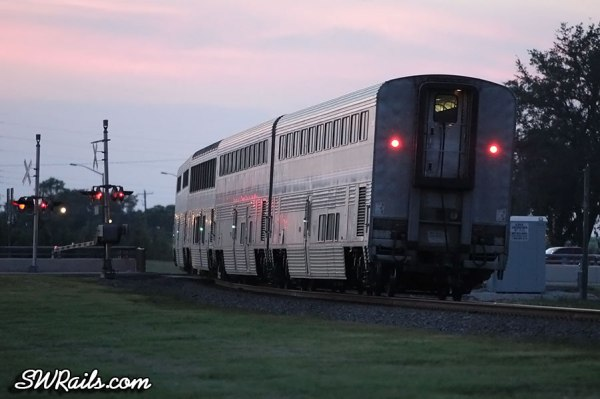 Amtrak Sunset Limited at Stafford TX