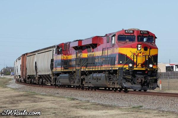 KCS 4739 at Stafford TX