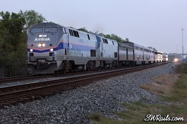 Amtrak #1 at Missouri City TX