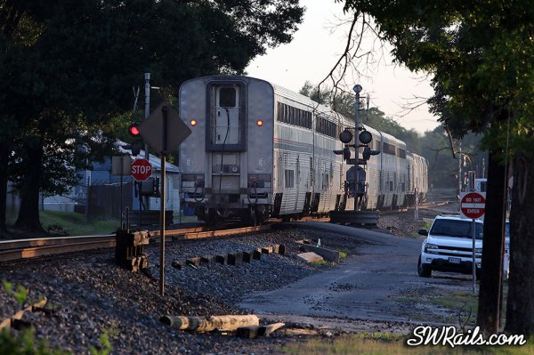 Amtrak Sunset Limited at Richmond TX