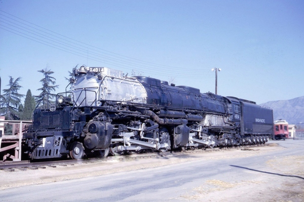 Union Pacific 4014 at Pomona CA in 12-63