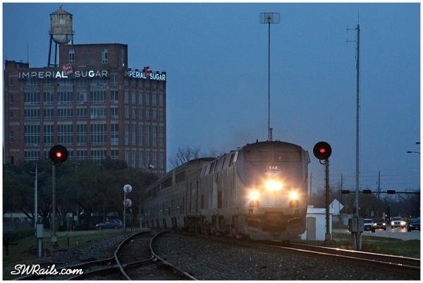 Amtrak Sunset limited in Sugar Land TX