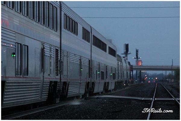 Amtrak Sunset limited in Sugar Land TX
