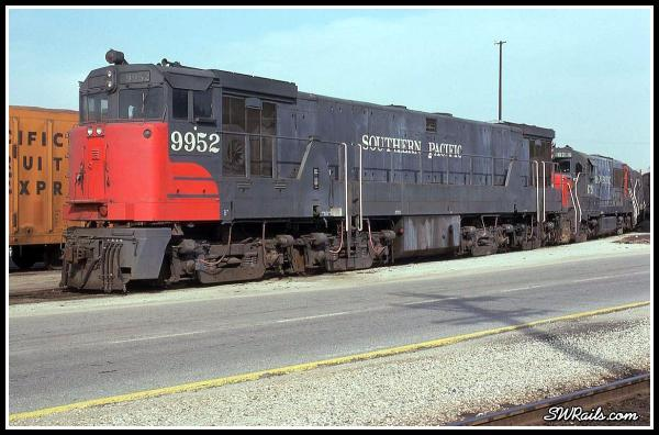 Southern Pacific U50 9952