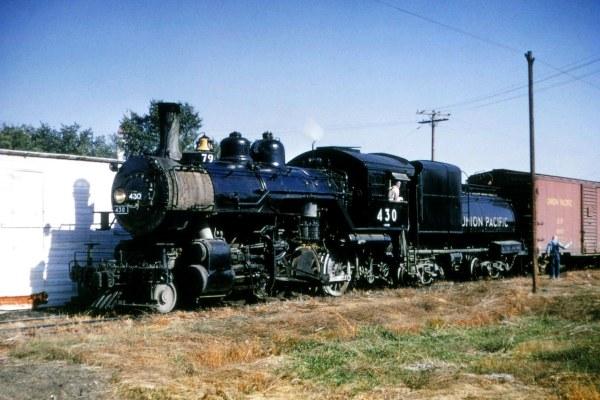 UP-430-2-8-0-Spaulding,-Nebraska-10-5-57