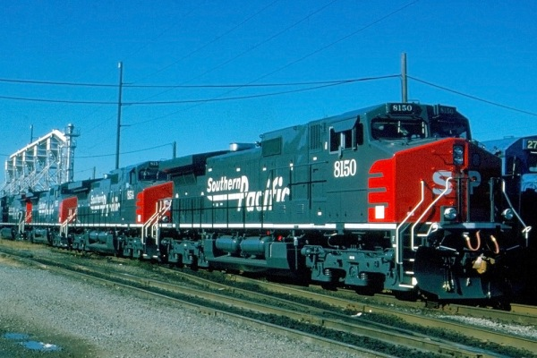 SP Dash 9-44CW 8150-Cleveland-10-11-94