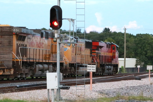 NS 8114 (Norfolk Southern heritage) at Houston TX