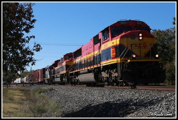 KCS SD70MAC 3941 at Richmond TX
