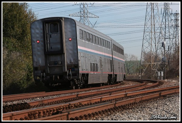 Amtrak, Sunset limited, at Houston TX