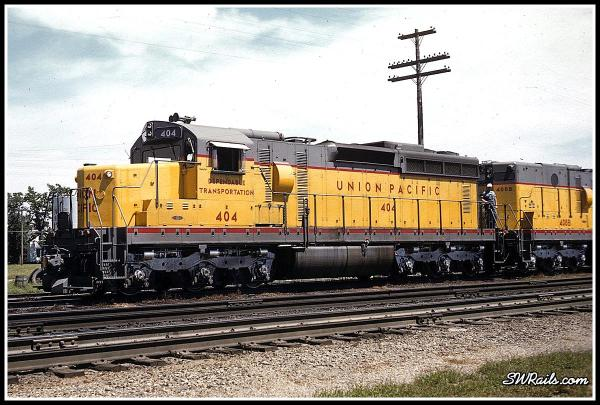 UP 404 & 408B, Schuyler, Neb