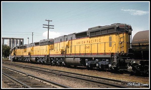 UP 404 Schyler, NE 1959b