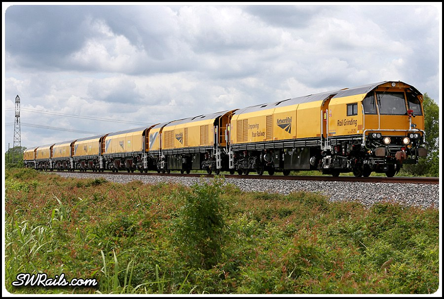 Loram Rail Grinder Euro Styling Southwest Rails